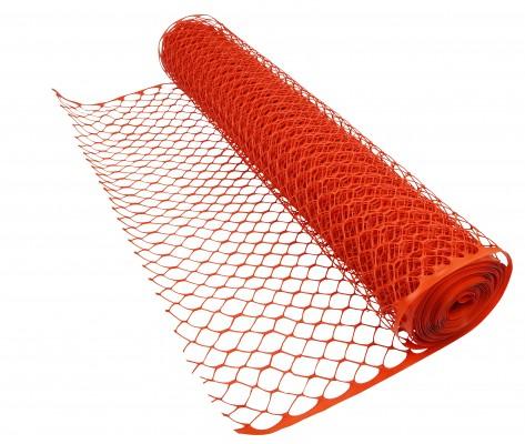 Snow Fence-Orange-Dia Grid2