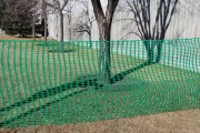 Green Snow Fence Lifestyle