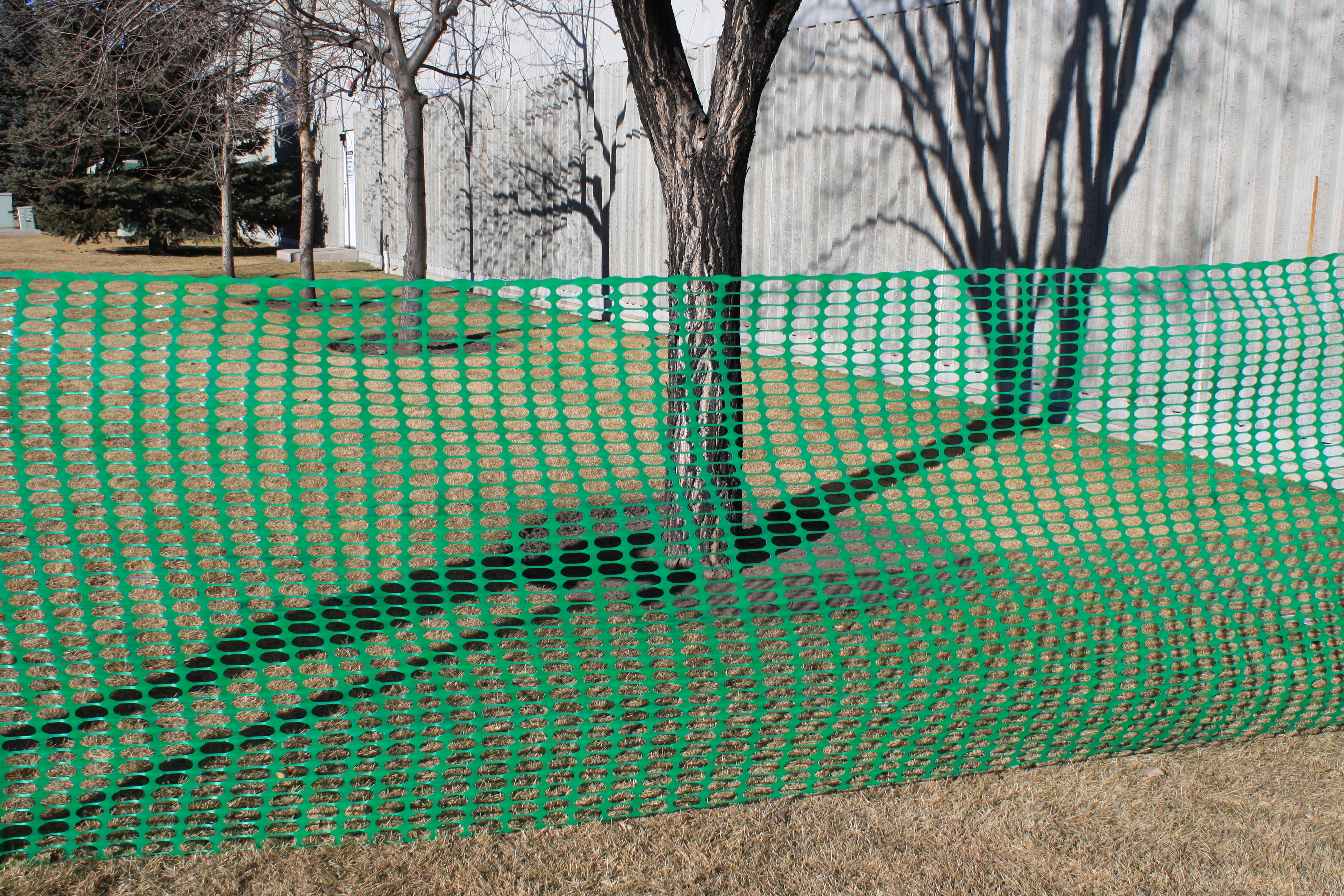 Safety Snow Fence Green O Ring Jaydee Group Boen