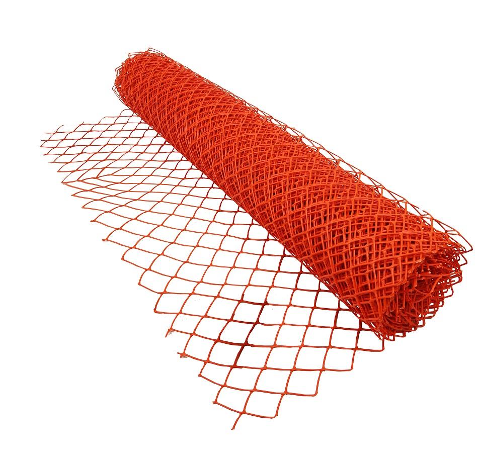 Safety Snow Fence Orange Extra Hd Diamond Grid Jaydee